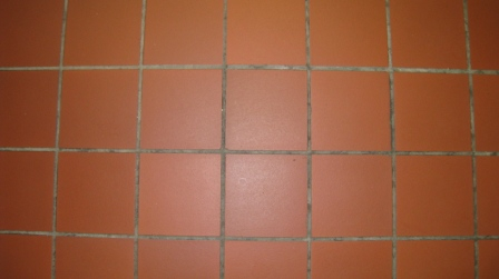 Tile Grout - dirty
